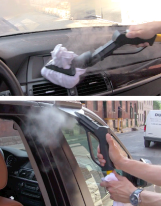 Steam Clean Car Interior >> Using Steam Cleaner For Car Interior Cleaning 1carwash